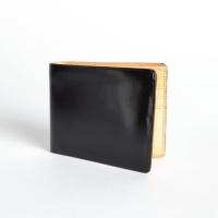 Чёрный бумажник IL BUSSETTO с 8 слотами для карт