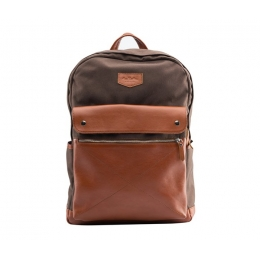 Рюкзак RAY BUTTON Bergen Brown/Tabac