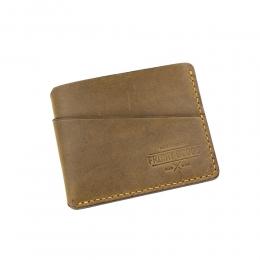Бежевый компактный кошелёк FRIDAY GOODS