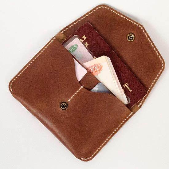 Бумажник для путешествий