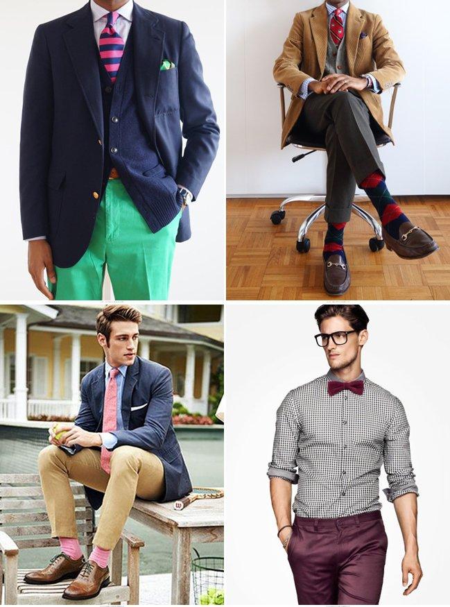 Бабочка галстук и брюки одного цвета