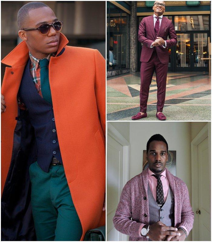 Комбинация предметов одежды цвет в цвет