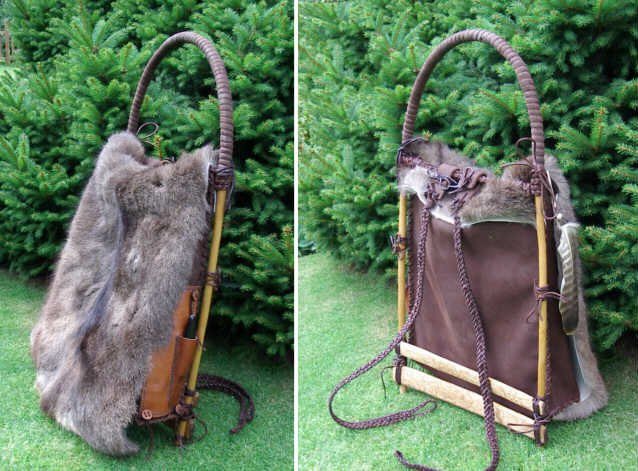 Прообраз современного рюкзака