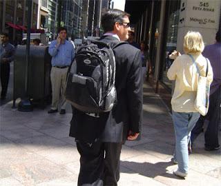 Рюкзак с костюмом